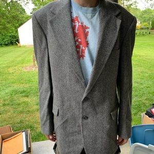 Black/white Tweed Sport Jacket